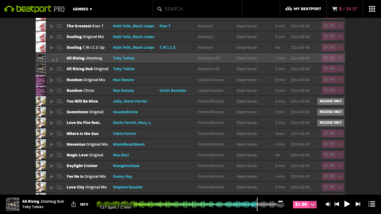 Beatport Pro Before